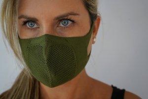 Mascarilla higiénica Reutilizable Tex51 verde
